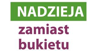 Logotyp Nadzieja zamiast bukietu