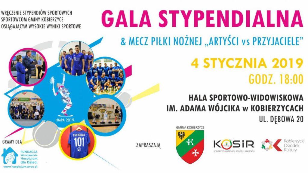 Gala Stypendialna - Halowe Mistrzostwa Polski Artystów w tenisie ziemnym